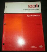 Case - Ih 8830 Windrower Tractor Operator`s Manual Book Factory Original 1988