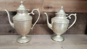 Rare Vintage / Antique W.m. Rogers Sterling Silver Plate Coffee/tea Pot.