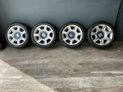 Rolls Royce Set Of Wheels With New Tires