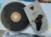 Presto T-2 The Promanade Broadcast 12 Inch Turntable For Restoration Or Parts