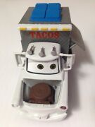 Disney Pixar Cars 2 Taco Truck Mater Diecast Toy - Loose - 143 - Agent Disguise