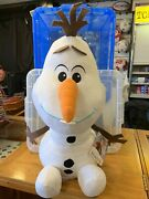 Giant Olaf Snowman Brand New Official Licensed Disney Frozen 2 60cm Plush Toy.