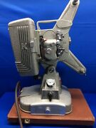 Vintage Keystone 109d 8mm Film Movie Projector With Reel And Case
