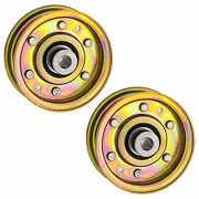 8ten 2pk Flat Idler Pulley For Cub Cadet Mtd White Toro Snow 756-0981a 756-04224
