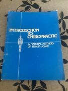 Introduction To Chiropratic. Louis Sportelli. 1981