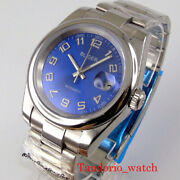 39mm Automatic Men Watches 21 Jewels Miyota 8215 Polished Case Sapphire Crystal