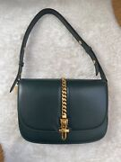 Sylvie 1969 Small Leather Womenand039s Shoulder Bag Andlrm601067 1dbox 3020 Green