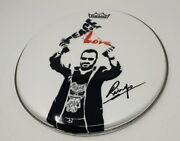 Beatles Ringo Starr Signed Autographed Remo Drumhead Rare
