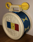 Vintage Fisher Price Toys Xylophone Drum 1976 Baby Toddler Musical Toy Complete