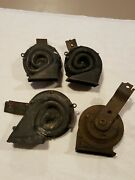 Vintage Car Horn Delco Remy Lot Of 4 Untested For Parts Or Repair