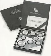 2020 Limited Edition Silver Proof 8 Coin Set. Sold Out At Mint. Rare 50k Mintedandnbsp