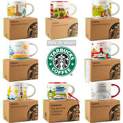 Starbucks You Are Here Collector Series Mugs Coffee Cups U-pick From Varieties