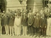 1924 Aug. 14 Photograph Of Coolidge Receives Republican National Committee Og