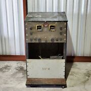 Vintage Hammarlund Super Pro Radio In Cart As Is For Parts Or Repair Only