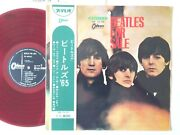 The Beatles For Sale Japan Original Odeon Op-7179 Red Wax Long Playing W/obi