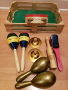 Melissa And Doug Band In A Box Includes 10 Pieces In All Wooden Educational...