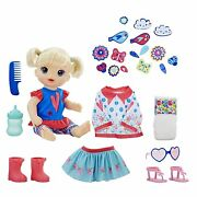 Baby Alive So Many Styles Baby Doll - Blonde Straight Hair - 16 Accessories
