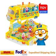 Pororo Melody School Bus 10 Figures Playground Play Set Toy + Fast Shipping