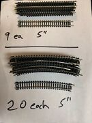Lot 1980's Atlas Ho Train Set Track Curved And Straight, Switches And More N Gauge