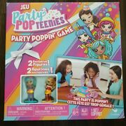 New Party Popteenies Party Poppin' Game With 2 Exclusive Figures