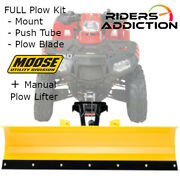 Moose Snow Full Rm4 Plow Kit W/ Pulley Kit 12-17 Can-am Outlander 1000r
