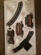 2003 Lemax Carole Towne Express Toy Train Set Christmas Collectible