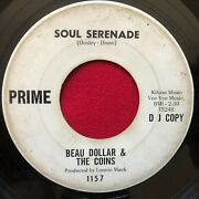 Beau Dollar And The Coins Soul Serenade / Any Day Now 1966 Soul Promo 45 Prime