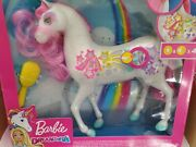 Barbie Dreamtopia Brush N Sparkle Unicorn With Lights And Sounds.open Box
