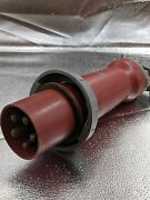 Hubbell Hbl5100p7w Ac Plug Iec60309 5100p7w Male Pin And Sleeve Used