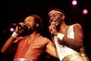 Earth Wind And Fire And Maurice White And Philip Bailey 1982 Old Music Photo