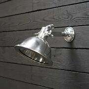 Nautical Aluminum Smooth Cargo Pendant/wall Light Andndashwith Stand Small Lot Of 10