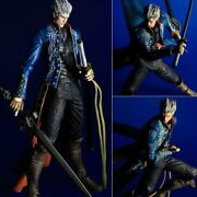 Square-enix - Devil May Cry 3 Play Arts Kai Action Figure Vergil 27 Cm