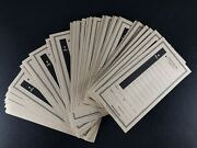 50-10 Line Perforated Tear Off Rip Tickets Football Cards Raffle Gambling Strip