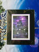 Disney Parks Hollywood Tower Hotel Of Terror By Larry Dotson Print New 11andrdquo X 14andrdquo