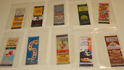 Cheesecake Pin-up Escape Tavern 11 Matchbooks Matchcovers 1940s Collection Lot 1