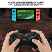 Wireless Bluetooth Game Handle Controller Gamepad For Ns Switch 8bitdo M30