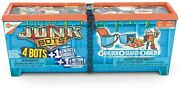 Junkbots Industrial Dumpster Assortment Kit Surprise Toys In Every Box 50 + Pcs