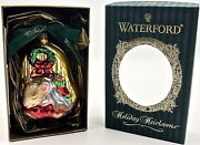 Waterford Holiday Heirloomsnot A Creature Was Stirringglass Xmas Ornament Nib