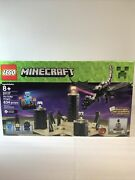 Lego Minecraft 21117 The Ender Dragon Building Set New In Sealed Box 634 Pcs.
