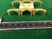 O Scale Brass Tender Truck Brake Castings. Two Sets.
