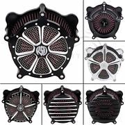 Air Cleaner Intake Filter For Harley Touring Electra Road Street Glide Softail