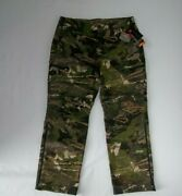 Under Armour Forest Camo Stealth Reaper Wool Hunting Pants Mens Size 40 X 32 New