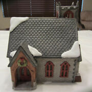 Dept 56 Dickens Village - Norman Church - Rare Limited Edition - 1692 Of 3500