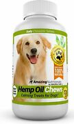 Amazing Oil For Dogs Calming Treats - Stress Relief Aid For Separation...