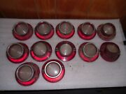 1964 Chevy Impala Used Back Up Taillight Light Lenses Chevrolet 64 Gm
