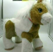 Hasbro Furreal Baby Butterscotch Talking Horse Pony Pinto Magical Friends