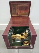 Rare 1/16 John Deere Model A With Man Gold Edition Tractor By Ertl W/box
