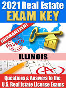 2021 Illinois Amp Real Estate Exam Prep Study Guide Questions And Answers [cd-rom]
