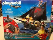 Playmobil 5238 Rc Pirate Ship With Motor Rare New In Sealed Box