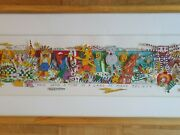 James Rizzi 3d Once Upon A Time In A Land Of Make Believe Handsigniert 69/350